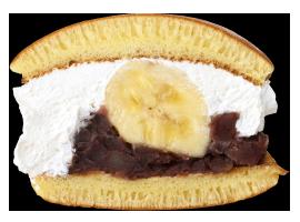 バナナどら焼